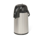 Grindmaster - Cecilware AP-3 3.0 liter Thermal Glass Liner Airpot, Stainless Steel with Black Trim