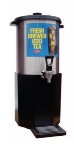 Grindmaster - Cecilware B1/3 3 gal Iced Tea Dispenser & Base, Stainless Dispenser, Plastic Base