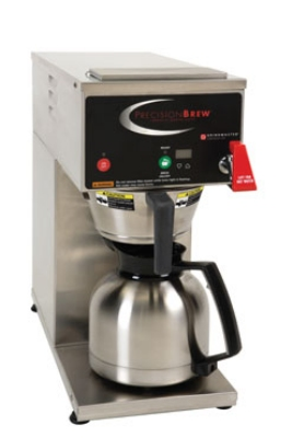 Grindmaster - Cecilware B-ID Auto Coffee Brewer, Pourover, Faucet & Digital Control, 120 V