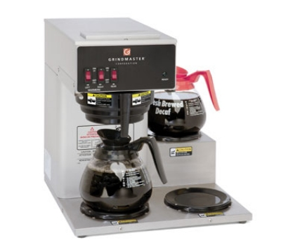 Grindmaster - Cecilware BL-3PW Low Profile Pourover Coffee Brewer, 1/2-Gallon Capacity
