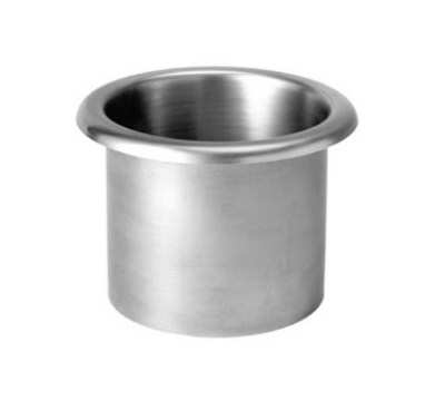 Cecilware C-8 Stainless Drop-In Waste Chute, 6-5/16-in Diameter Over Flange