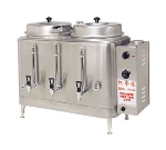 Cecilware CH100N Twin Chinese Hot Tea Urn w/ 3-gal/Liner Capacity, Fresh Water, 208v/1ph