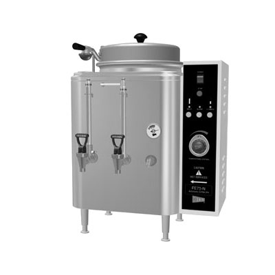 Cecilware CH75N-119882 Single Chinese Hot Tea Urn w/ 3-gal/Liner Capacity, Fresh Water, 240v/1ph