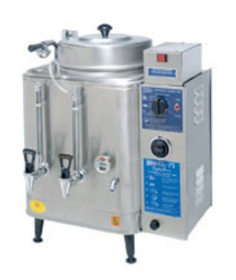 Cecilware CL75N Single Coffee Urn w/ 3-gal/Liner Capacity, Automatic, Fresh Water, 240v/1ph