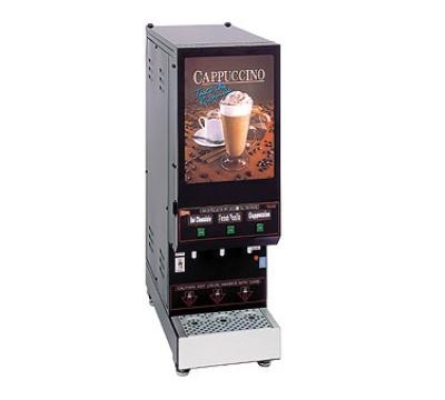 Cecilware GB3M5.5-LD 3-Flavor Cappuccino Machine w/ (3) 5.5-lb Hoppers, 120v