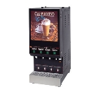 Cecilware GB4M5.5-LD 4-Flavor Cappuccino Machine w/ (4) 5.5-lb, 120v