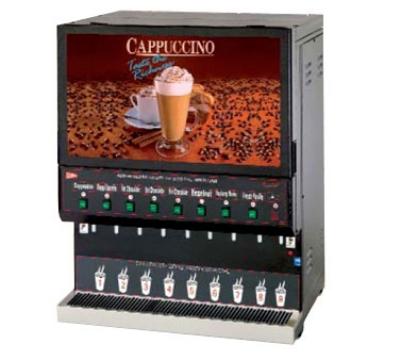 Grindmaster - Cecilware GB8M10-LD-U 8-Flavor Fast Flow Destination Cappuccino Dispenser w/ 4.2-gal Capacity 120 V