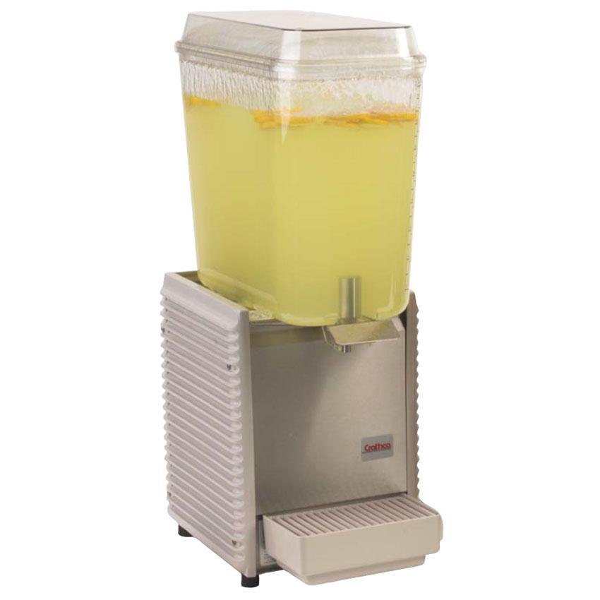 Grindmaster - Cecilware D15-4 Cold Beverage Dispenser For Premix, 5-Gallon, Plastic, 120 V