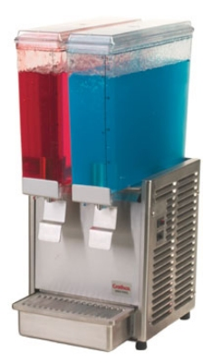 Grindmaster - Cecilware E29-3 Twin Premix Cold Beverage Dispenser, (2) 2.4-Gallon, 120 V