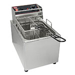 Grindmaster - Cecilware EL15 Countertop Electric Fryer - (1) 15-lb Vat, 120v/1ph