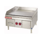 Cecilware EL1812 12-in Griddle w/ 5/8-in Steel Plate & Thermostatic Controls, 120 V