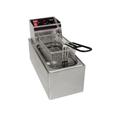 Cecilware EL6 Countertop Electric Fryer - (1) 6-lb Vat, 120v