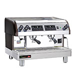 Cecilware ESP2-220V Twin Espresso Machine w/ 480-Cups/hr Capacity, Automatic, 240v