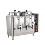 Cecilware FE100N-102417 Twin 3-Gal Automatic Coffee Urn - Stainless, 240v/1ph