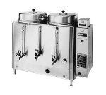 Cecilware FE300 Twin Coffee Urn w/ 10-gal/Liner Capacity, Automatic, 3-lb Batch, 240v/3ph