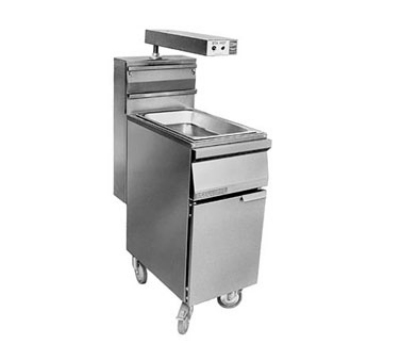 Grindmaster - Cecilware FMDS Dump Station, Food Warmer, 15.5-in W, All Stainless