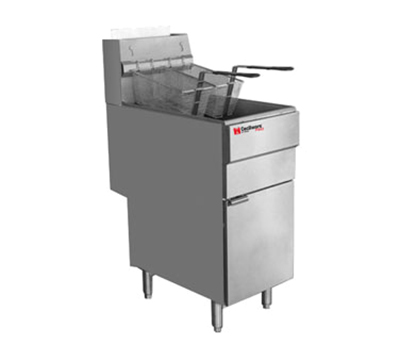 Cecilware FMS705NAT Gas Fryer - (1) 70-lb Vat, Floor Model, NG