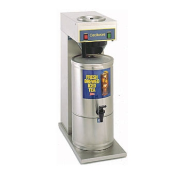 Grindmaster - Cecilware FTC3P Iced Tea Brewer w/ Stainless 3 gal Dispenser, Single Pour Over Design