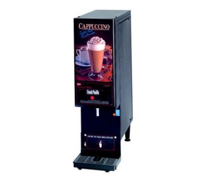 Cecilware GB1CP 1-Flavor Cappuccino Machine w/ (1) 8-lb Hoppers, 120v