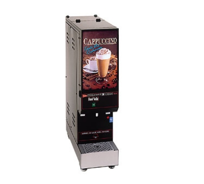 Grindmaster - Cecilware GB1M-LD Cappuccino Dispenser, Manual Dispense, 2.2-Gallon, Black