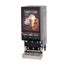 Grindmaster - Cecilware GB3LP-LD Low Profile Hot Chocolate Dispenser, 3 Flavors, 3 Hoppers, Lit Display