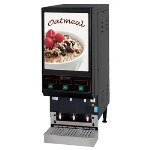 Cecilware GB3 LPO 3-Flavor Oatmeal Dispenser w/ (3) 4-lb Hoppers, 120v