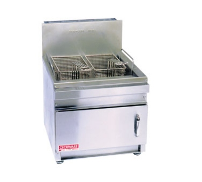 Cecilware GF28 Countertop Gas Fryer- (1) 28-lb Vat, LP