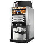 Cecilware KORINTO 1/2 Automatic Espresso Machine w/ (1) Coffee Bean & (2) Soluble Hoppers, 120v
