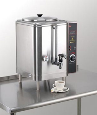 Grindmaster - Cecilware ME10EN 120 10 gal Water Boiler, Single Liner, Auto Refill, Stainless Body, 120 V
