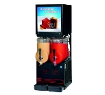 Cecilware MT2ULAFBL Twin Slush Machine w/ 2.5-gal/Bowl Capacity, Auto Fill, Black, 115v