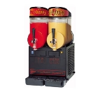 Cecilware MT2ULBL Twin Slush Machine w/ 2.5-gal/Bowl Capacity, Manual Fill, Black, 115v