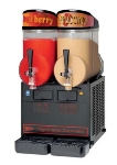 Cecilware NHT2ULBL Twin Slush Machine w/ 2.5-gal/Bowl Capacity, Manual Fill, Black, 115v