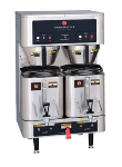 Grindmaster - Cecilware P400E Shuttle Coffee Brewer For (2) 1.5-Gal, Automatic, Stainless Basket