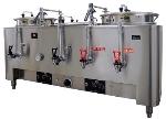 Grindmaster - Cecilware PB-8103E Precision Brew Coffee Urn, Twin 3 Gallon Liners, 120/280/1