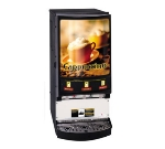 Grindmaster - Cecilware PIC-3 Hot Chocolate Cappuccino Dispenser, 3-Hoppers & Back Lit Front