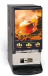 Cecilware PIC33A Hot Chocolate/Cappuccino Dispenser, 3 Heads, 5 lb Hop, Programmable PIC33A