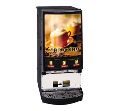 cecilware PIC-3 Hot Chocolate/Cappuccino Dispenser Three Head Unit Restaurant Supply