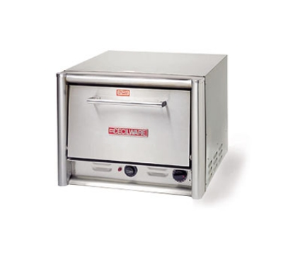 Cecilware/Grindmaster PO18 Countertop Pizza Oven Single Compartment (2) 18-1/4 in Ceramic Decks 120 V Restaurant Supply