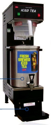 Cecilware SU3P 3-gal Iced Tea Dispenser w/ Base