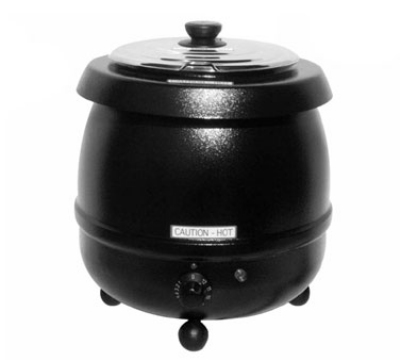 Grindmaster - Cecilware SW11 11 qt Soup Kettle, Stainless Inner Pot, Adjustable, Magnetic Labels