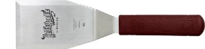 Mercer Cutlery M18340 Hells Handle High Heat Resistant Heavy Duty Turner, 5 x 3-in