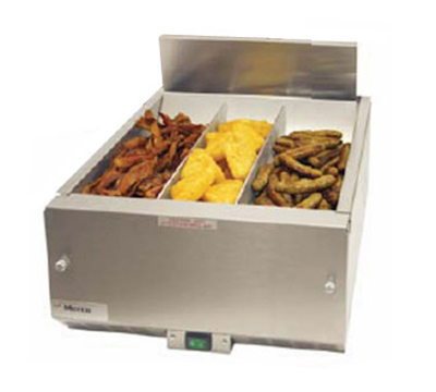 "Merco Savory 27012 16"" Countertop Fried Food Holding Station, Air Controlled, Stainless, 120/1 V"