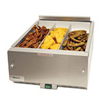 "Merco Savory FFHS27A-C1G11 27.5"" Countertop Fry Warmer Dump Station - Underburner, 208v/1ph"