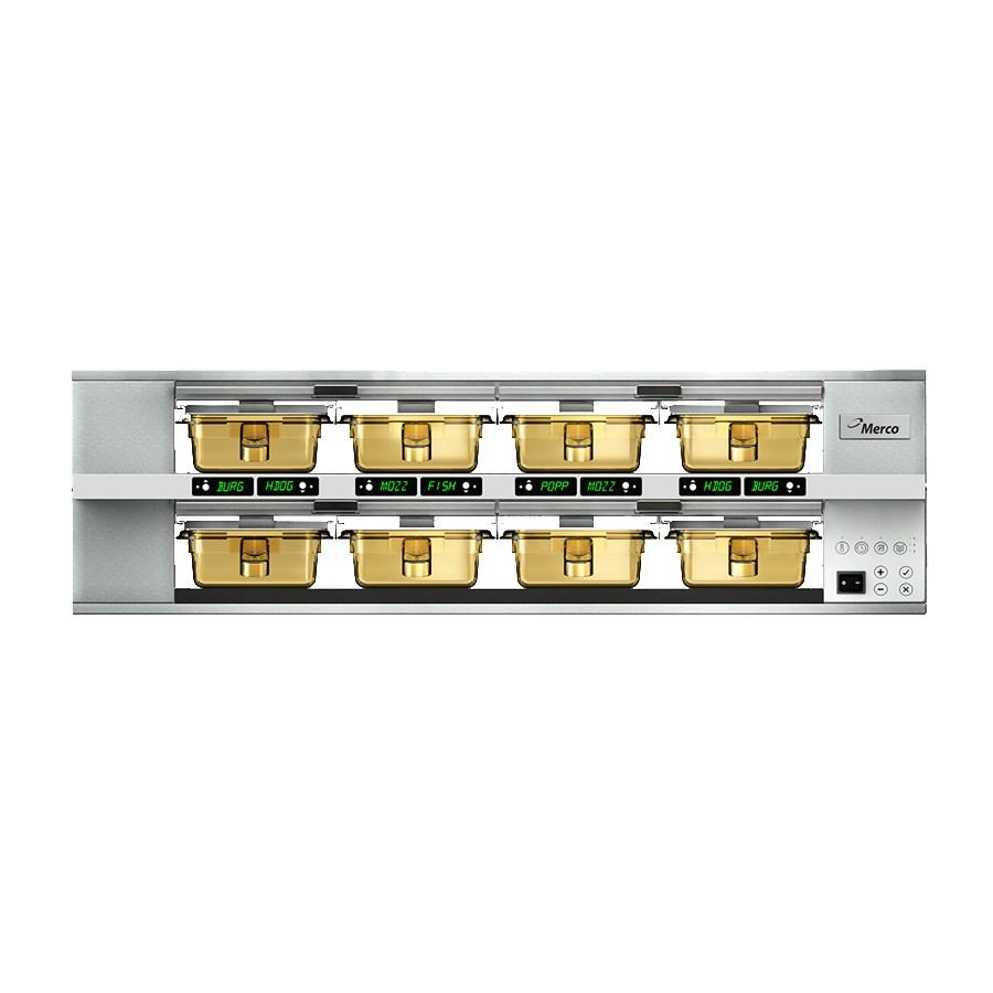 Merco Savory MHG24SAB2N 8-Pan Pass-Thru Heated Holding Cabinet - Stainless, 208-230v/1ph