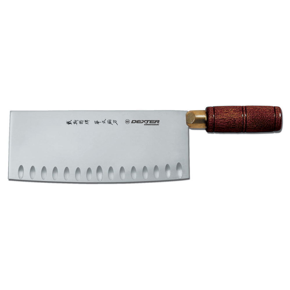 Dexter Russell 82CE-8PCP Connoisseur 8 in x 3-1/4 in Chinese Chef's Knife, Duo-Edge