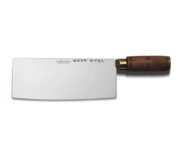 Dexter Russell S5198PCP Chinese Chef's Knife w/ 8 x 3-1/4-in High Carbon Steel Blade