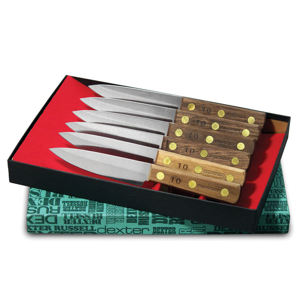 Dexter Russell #2 SET 6-Piece Steak Knife Set