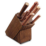 Dexter Russell BS6-8 6-Piece Knife Set w/ Slant Block