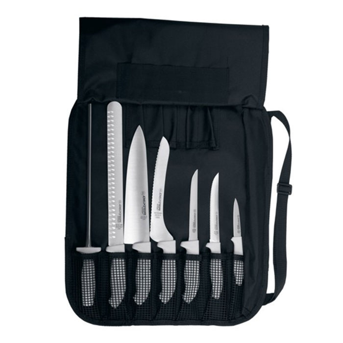 Dexter Russell SGCC-7 SofGrip Professional Cutlery Set, 7 Pieces