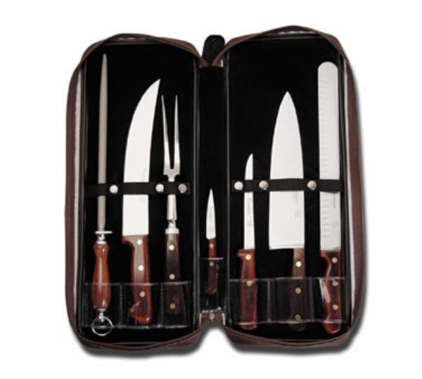 Dexter Russell 5950 Connoisseur Carving Set, 7 Piece, With Case
